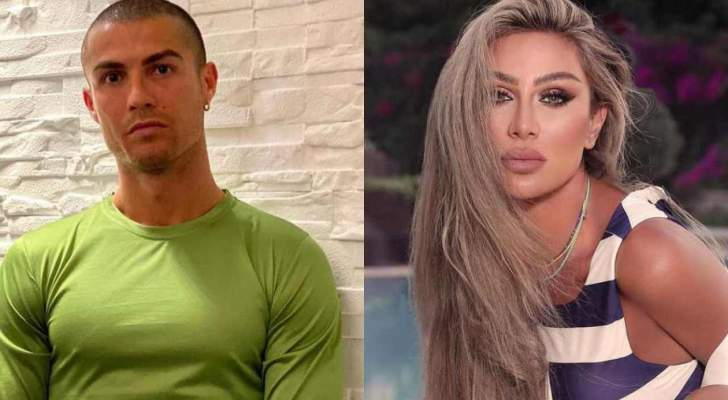 مايا دياب تحطم رقماً قياسياً بتحديها كريستيانو رونالدو.. بالفيديو