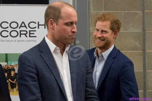 الأمير هاري يتلقى اتصالاً من الأمير ويليام بعد حلقته مع أوبرا وينفري