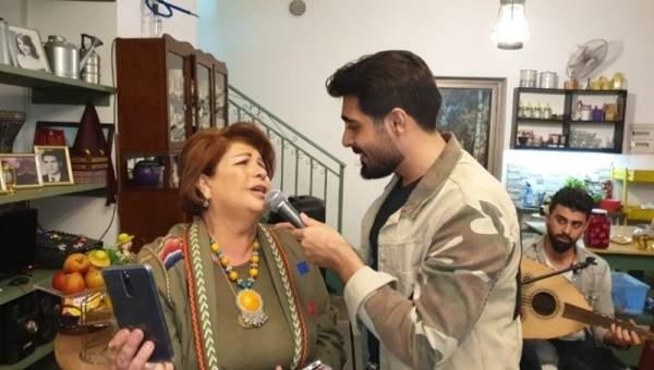 إياد يحتفل بـ عيد الإستقلال مع أرزة الشدياق-بالصور
