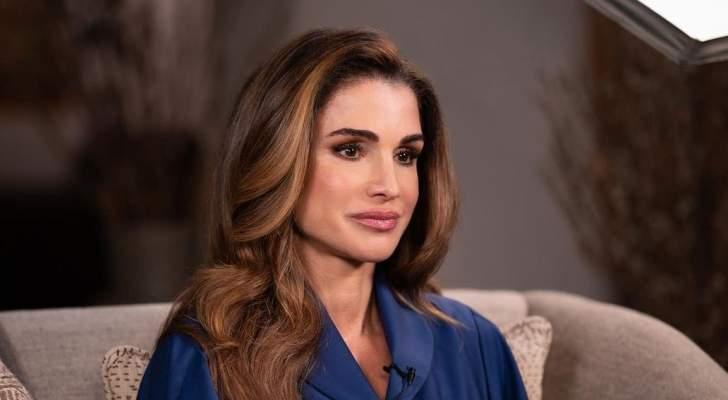 بالصور- الملكة رانيا تعبّر عن حبها لأولادها بصور نادرة