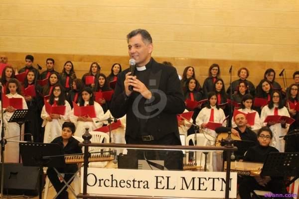 """جوقة نسروتو وأوركسترا المتن الشرقية و IPSM Chamber Orchestra يبدعون في رسيتال """"بين أرض وسما موعد"""" في بلدة مار موسى"""