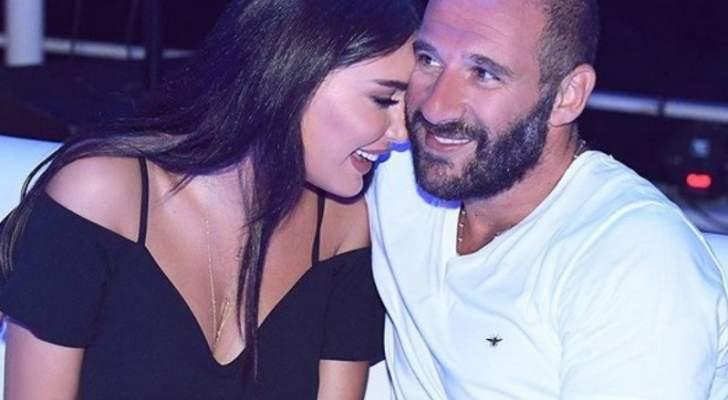 سيرين عبد النور تحتفل بعيد ميلاد زوجها - بالفيديو