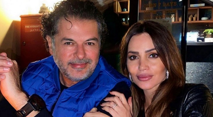 """خاص """"الفن""""- راغب علامة يدعم زوجته جيهان علامة بهذا المشروع في القاهرة"""