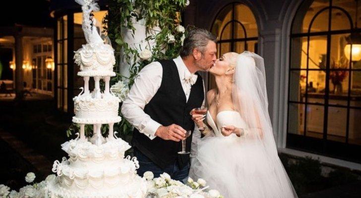غوين ستيفاني تنشر الصور الأولى من زفافها على بليك شيلتون