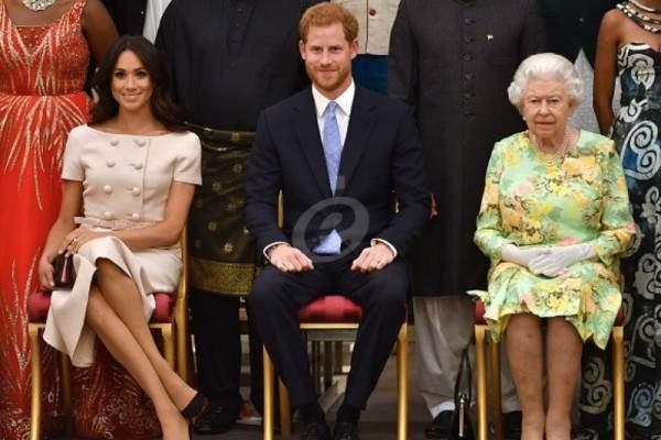 الملكة إليزابيث تحظّر على الأمير هاري وميغان ماركل إستخدام هذا المصطلح