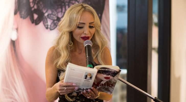 """نتالي رستوكيان :""""أطمح إلى المرتبة الأولى عالمياً وكتابي الثاني قيد الكتابة"""""""