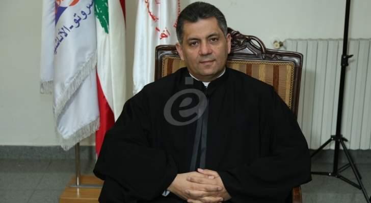 """الأب مروان غانم :""""ريتا كانت ضد العنف والظلم والمجتمع اللبناني لا يتقبل أن تكون الفتاة بمركز تأهيل"""""""