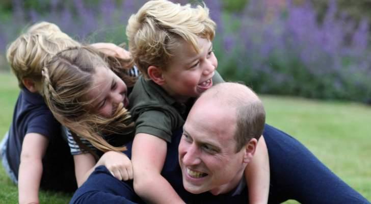 الأمير ويليام يفقد أعصابه مع أطفاله والسبب فيروس كورونا