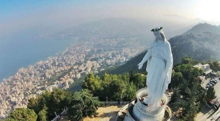 بعد حدوث إشكال فيه..مزار سيدة لبنان حريصا يصدر بياناً توضيحياً