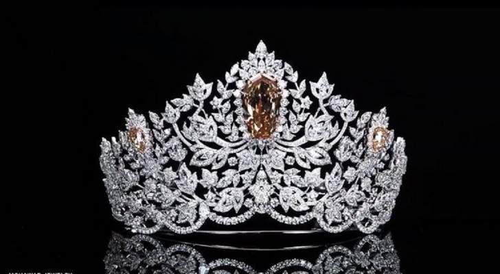 تاج ملكة جمال الكون لعام 2019 من تصميم لبناني