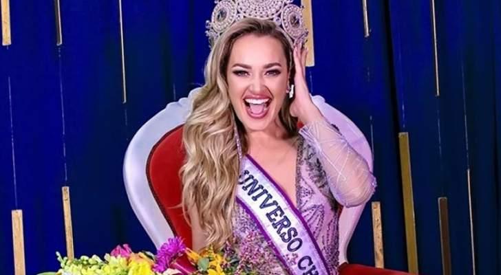 إنتخاب دانييلا نيكولاس ذات الاصول اللبنانية ملكة جمال تشيلي - بالصور