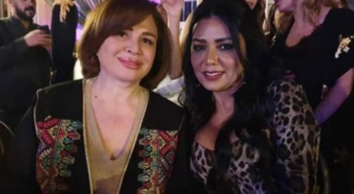 شاهدوا وصلة رقص رانيا يوسف وإلهام شاهين والسبب راغب علامة- بالفيديو