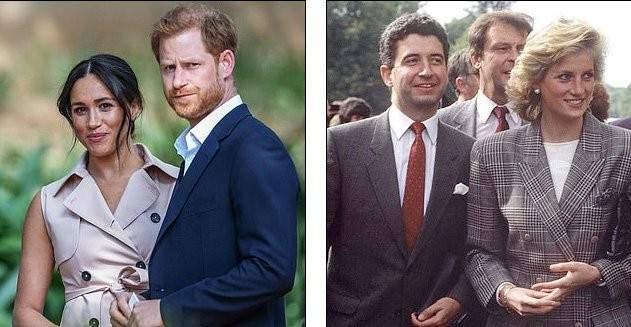 السكرتير السابق للأميرة ديانا يحذّر الأمير هاري وميغان ماركل من هذا الأمر