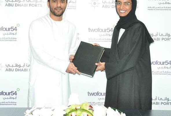 twofour54 وموانئ أبوظبي تدعمان صناعة السينما والتلفزيون في أبوظبي