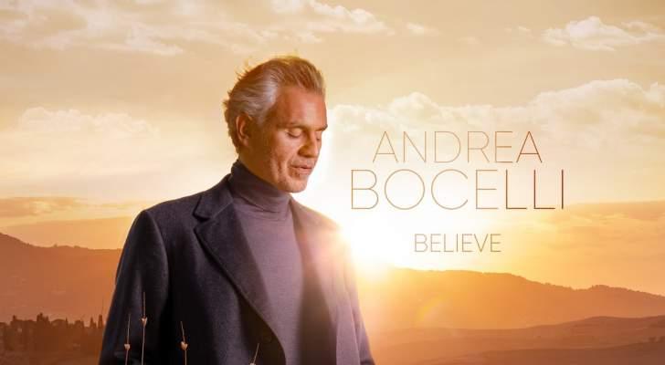 أندريا بوتشيلي يكشف موعد طرح ألبومه.. وعمل بتوقيع إنيو موريكوني