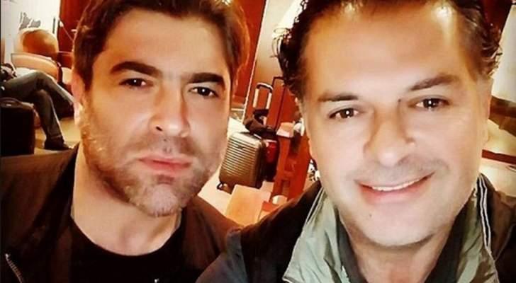 وائل كفوري يعايد راغب علامة بعيد ميلاده-بالصورة