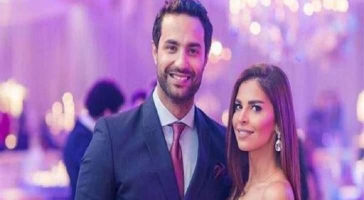 زوجة كريم فهمي حامل بمولودتهما الثالثة
