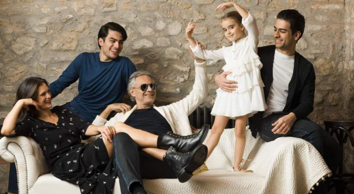 أندريا بوتشيلي يحتفل بعيد ميلاد إبنته.. بالصور