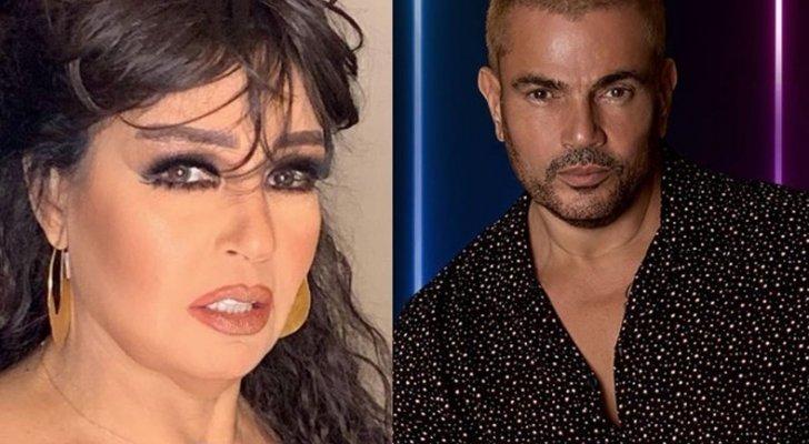 عمرو دياب يفاجئ فيفي عبده بما فعله تجاهها خلال حضورها حفله.. بالفيديو