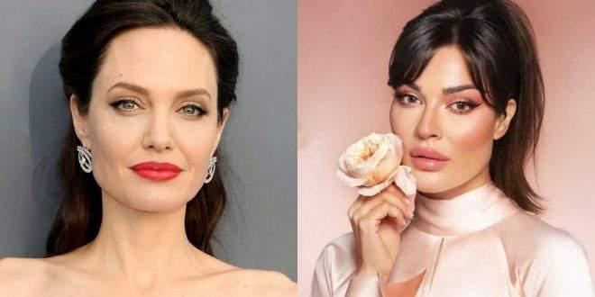 نادين نسيب نجيم أجمل وجه عربي وتنافس أنجلينا جولي- بالصورة