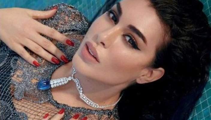 ياسمين صبري بإطلالة خليجية وخاتمها الماسي يثير الجدل-بالصورة