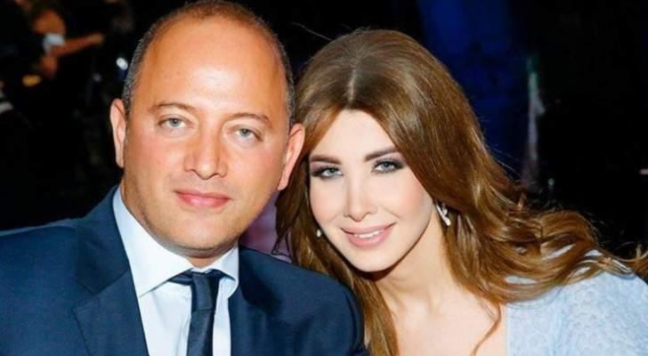 بالصور- نانسي عجرم وزوجها يحتفلان بعيد ميلاد حبهما الأول
