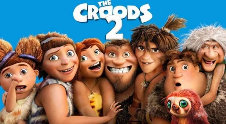 """فيلم """"The Croods: A New Age"""" يتصدر شباك التذاكر.. ويحقق أرباحاً كبيرة"""