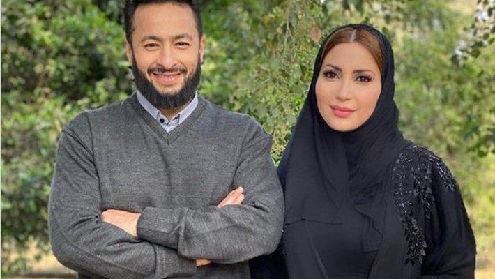 """حمادة هلال يدافع عن نسرين طافش بسبب مسلسل """"المداح""""- بالفيديو"""