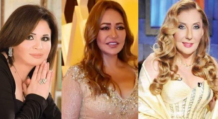 نادية الجندي وزينة وإلهام شاهين وليلى علوي يتألقن في زفاف شريف هاني شاكر- بالصور