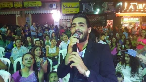 إياد يحيي حفلاً مميزاً في بقعاتا..بالصور