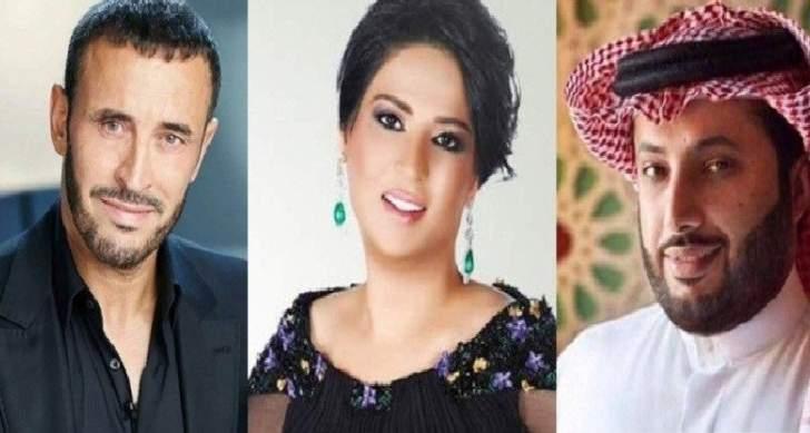 نوال الكويتية وكاظم الساهر وغيرهما يهنئون تركي آل الشيخ بسلامته