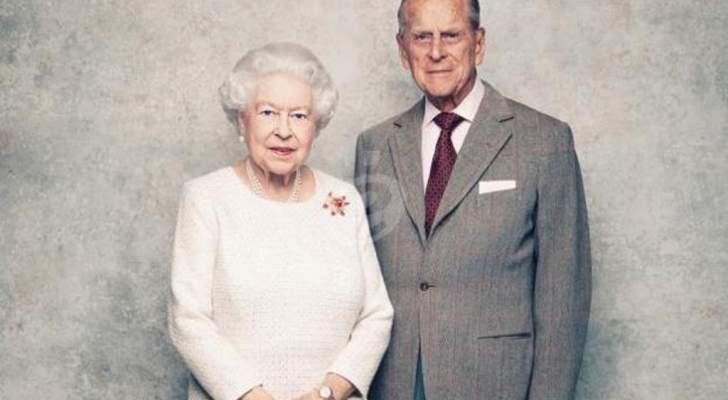 الملكة إليزابيث وزوجها الأمير فيليب يتلقيان تهنئة مميزة من أحفادهما بعيد زواجهما الـ 73-بالصور