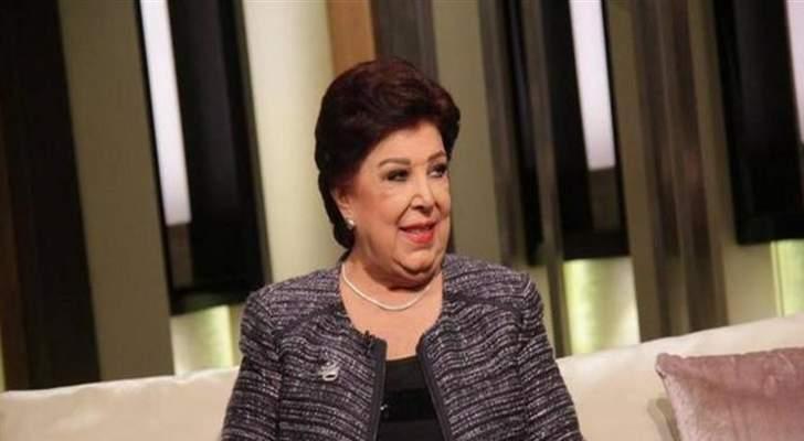 رجاء الجداوي تطمئن الجمهور على حالتها الصحية