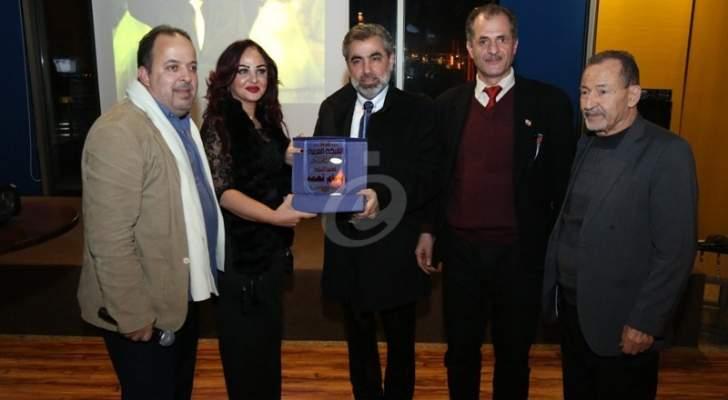 خاص بالصور- تكريم مصمم الأزياء بسام نعمة في بيروت