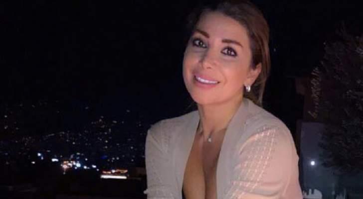 """شاهدوا ألين خلف وهي ترقص على أنغام أغنية """"قلبي مال"""" لـ رامي عياش.. بالفيديو"""