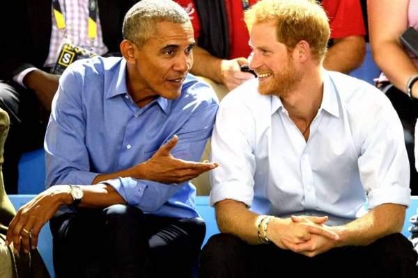 ما الذي يجمع اوباما بالأمير هاري؟