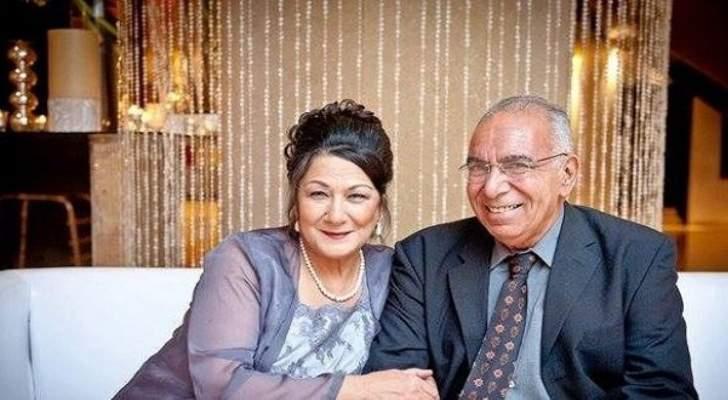 زوج أحلام الجريتلي يوجه لها رسالة مؤثرة بعد وفاتها
