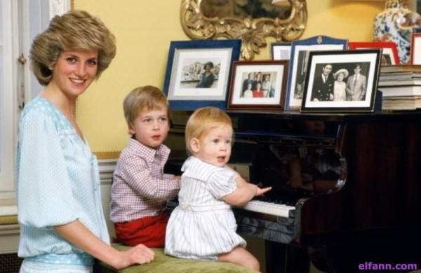 الأميرة ديانا أوصت بهذه الهدية لـ الأمير هاري في عيد ميلاده الـ30