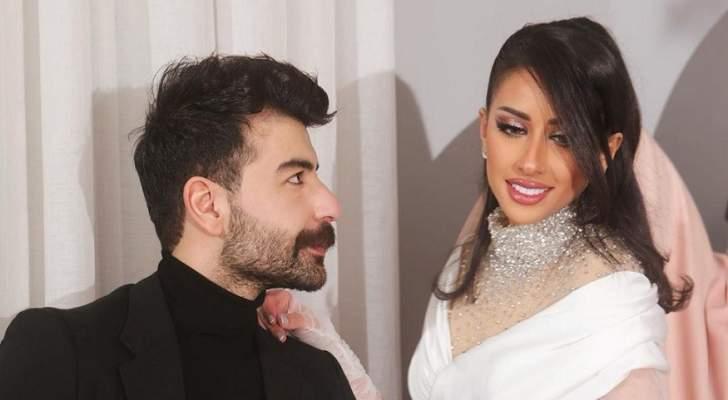 فرح الهادي تثير الجدل بطريقة إحتفالها بعيد ميلاد زوجها عقيل الرئيسي - بالفيديو