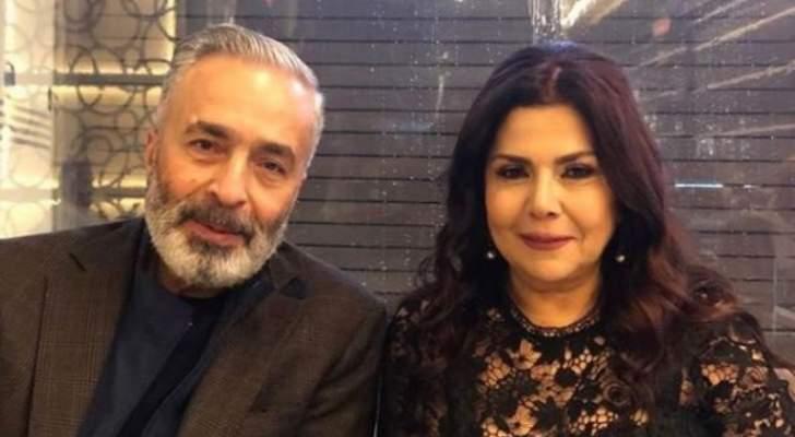 """صباح الجزائري إحتفالاً بعيد ميلاد زوجها:""""حبي إلك بيوصل لأبعد سما""""-بالفيديو"""