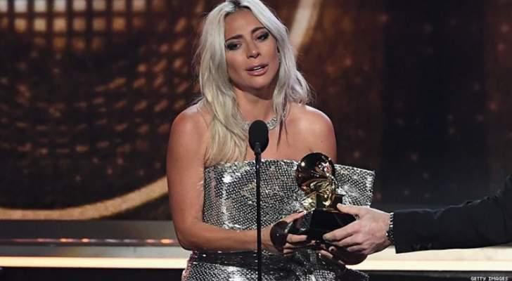 ليدي غاغا تحصد ثلاث جوائز غرامي وكاردي بي اول مغنية راب تفوز بأفضل ألبوم