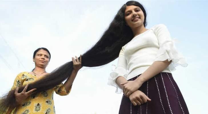 صاحبة أطول شعر في العالم تتخلى عن اللقب وتضع أمامها 3 خيارات
