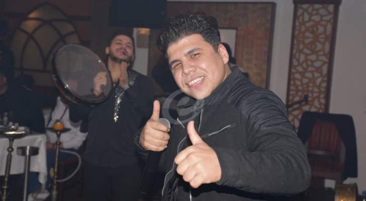 خاص بالصور- عمر كمال يعود الى بيروت في حفل جديد