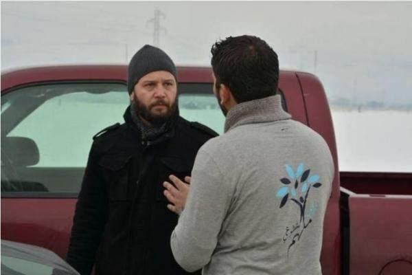 مكسيم خليل وزوجته يزوران مخيمات اللاجئين السوريين في البقاع..بالصور