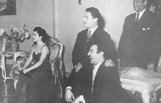 موقف محرج تعرَض له عبد الحليم حافظ في منزل رشدي أباظة
