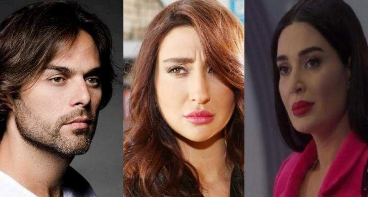 سيرين عبد النور وجيسي عبدو ومازن معضم وغيرهم يطالبون بإستكمال التصوير-بالصور