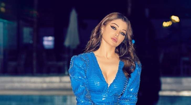 هيفا وهبي تدعم الشعب اللبناني-بالفيديو