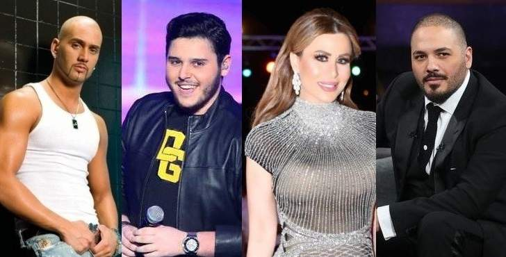 رامي عياش ومساري وفيفيان مراد والوليد الحلاني أنعشوا الثورة بأغنيات وطنية