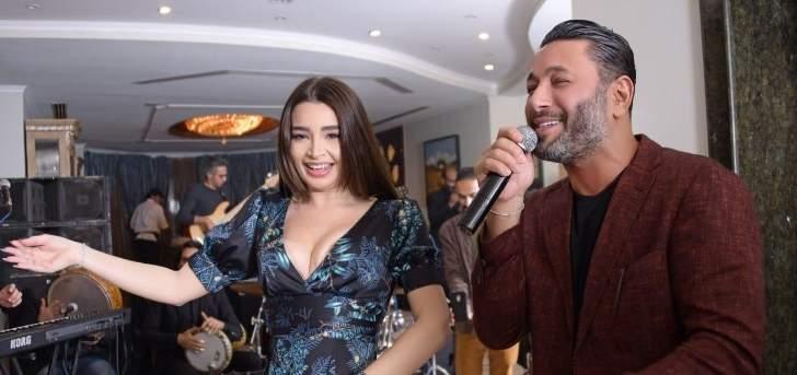 بالصور- ما هو سرّ لقاء زياد برجي وجوهرة في مصر؟