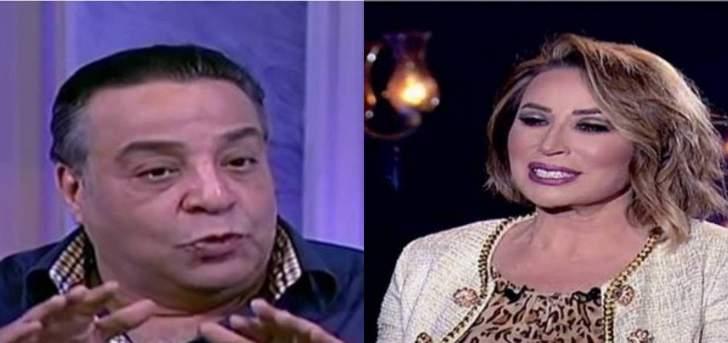 ممدوح شاهين يقاضي إيناس الدغيدي بسبب عبير صبري- بالفيديو